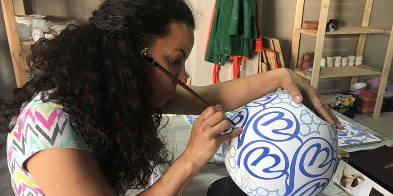 Seramik sanatçısı Çiğdem Eroğlu'na uluslararası ödül