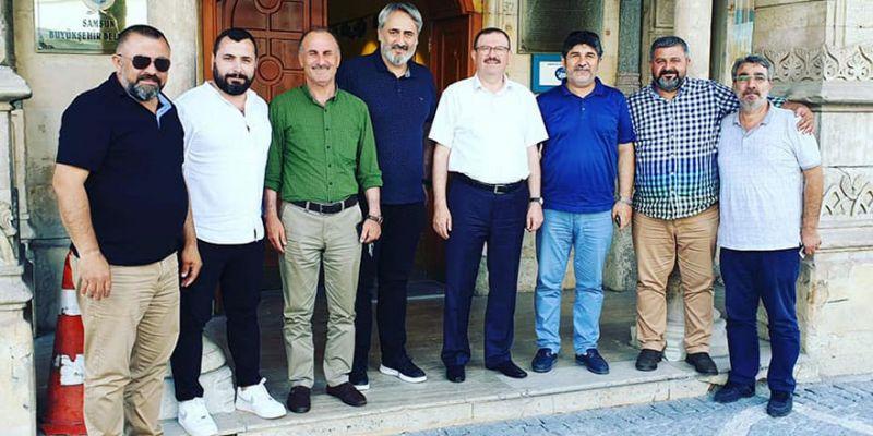 Kocaeli ASKF heyetinin Samsun'daki ziyaretleri