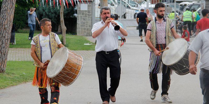 Orduluların festivali Kartepe'ye renk kattı