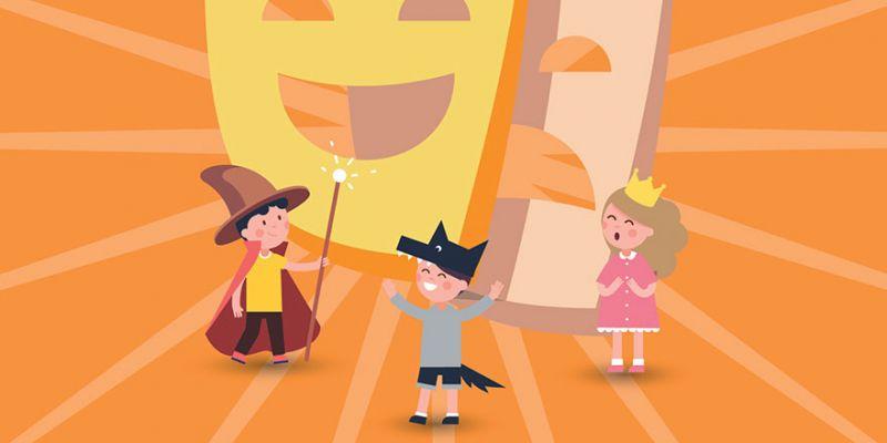 Yaz eğlenceleri Çocuk Tiyatroları ile 41 Burda'da