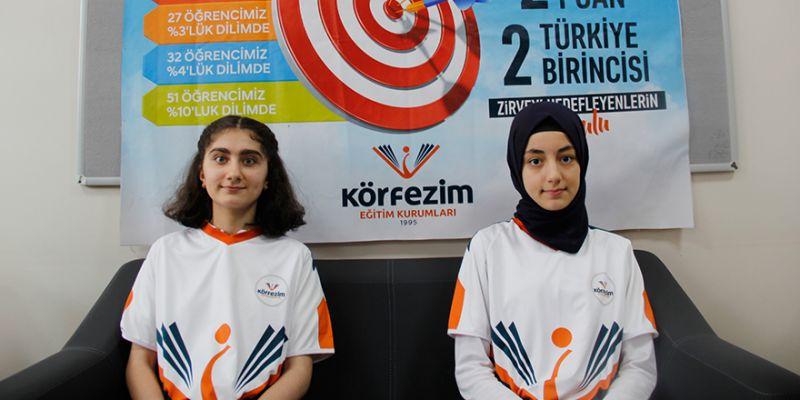 LGS Türkiye birincileri Körfez'im okulundan