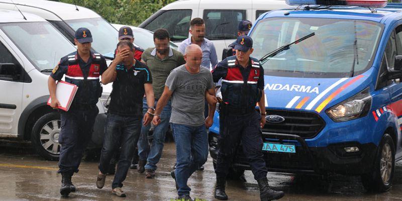 Boru hattından 2 ton yakıt çalan 5 kişi yakalandı