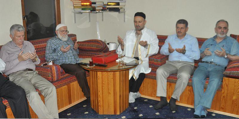 Merhum Bünyamin Karaca için hatim duası