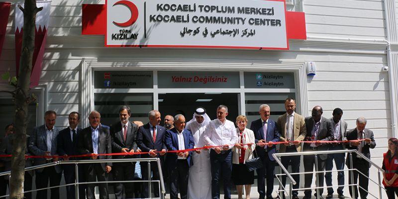 Türk Kızılay Toplum Merkezi Kocaeli'de açıldı