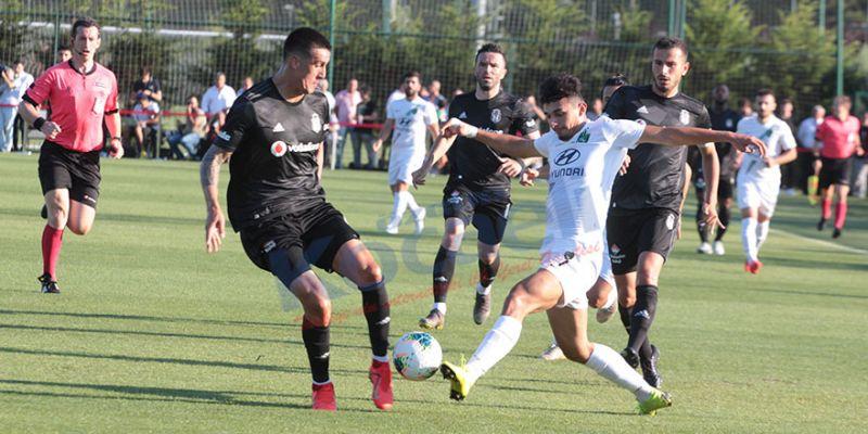 Kocaelispor, Beşiktaş'a farklı mağlup oldu