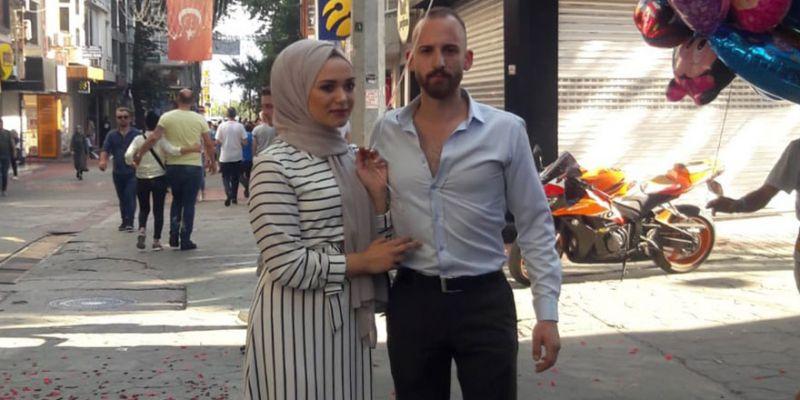 Fethiye Caddesi'nde evlenme teklifi