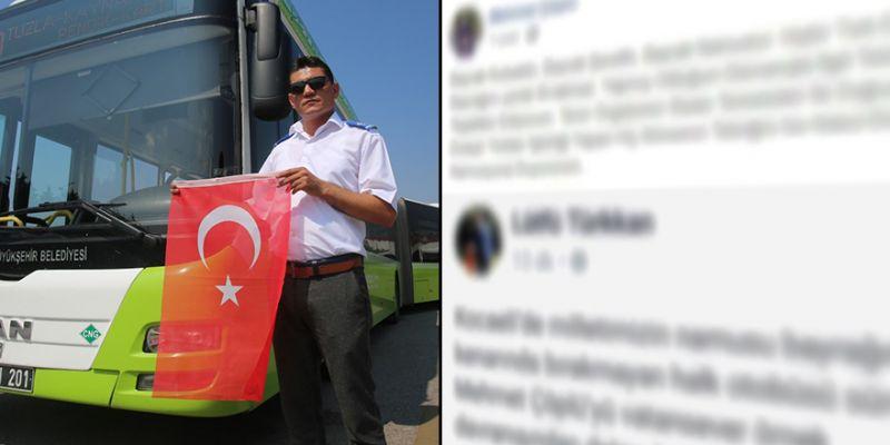 Gönülleri fetheden şoför, Lütfü Türkkan'ın tebriğini reddetti