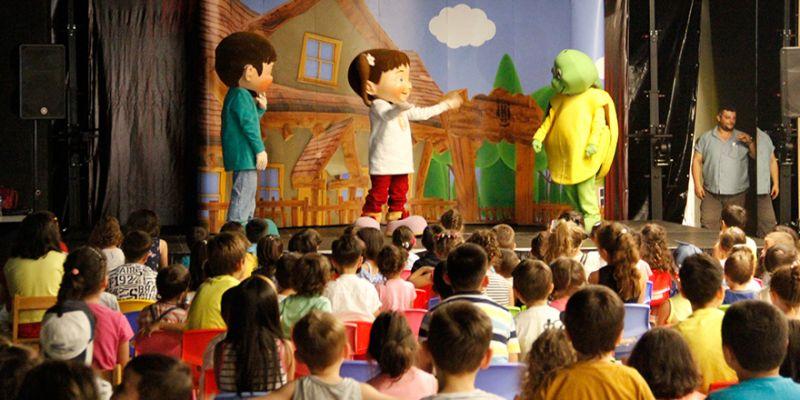 Çocuklar 41 Burda'da doyasıya eğlendi