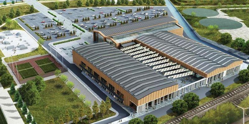 Kongre Merkezi tamamlandı! İlk etkinlik Ekim'de...