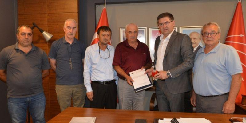 CHP Kartepe'de yeni yönetim göreve başladı