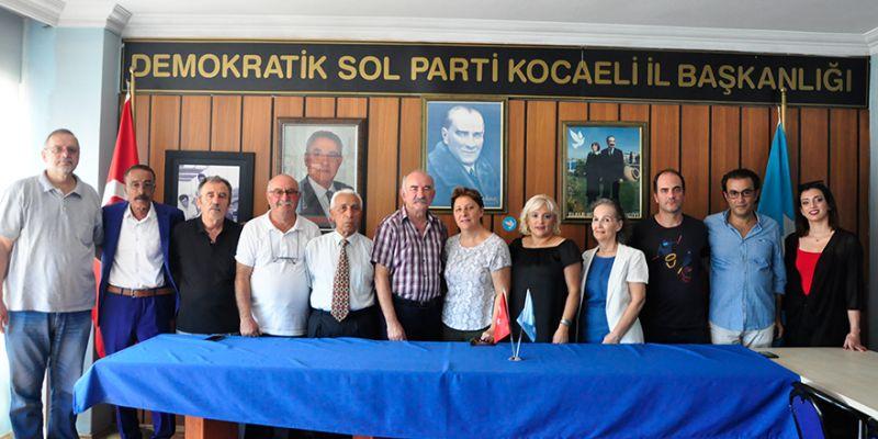 DSP ailesi bayramlaştı