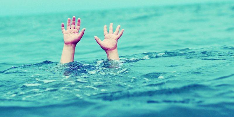 Üç kardeş boğulmaktan son anda kurtuldu