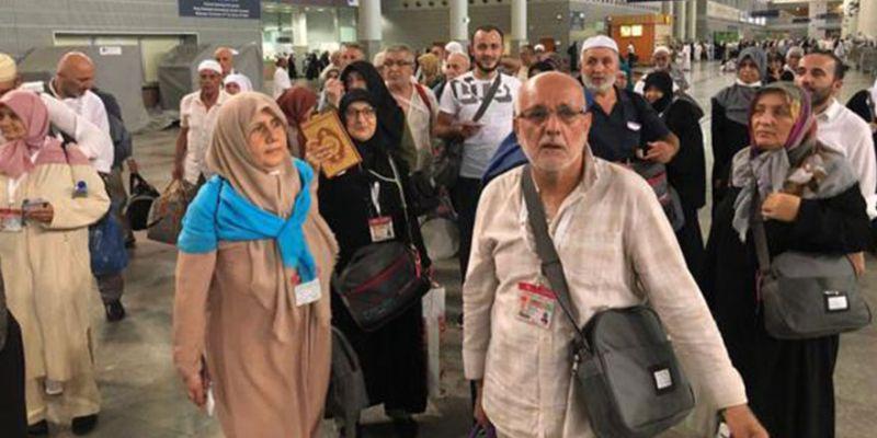 Hacı adayları kente dönüyor