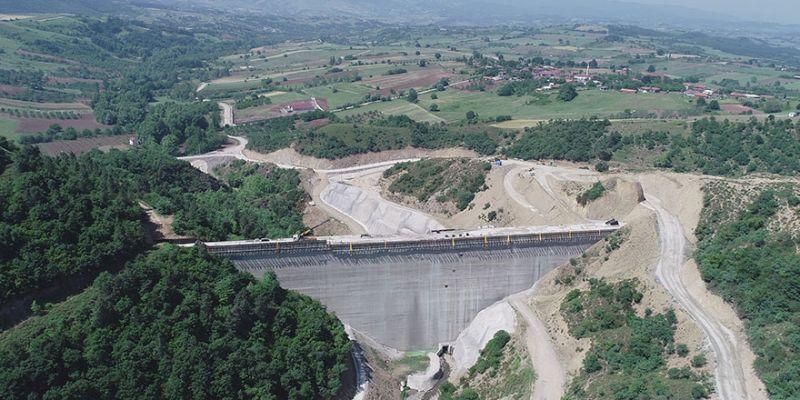 İhsaniye Barajı su tutmaya başlıyor