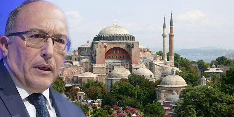 Haluk Dursun'un selası Ayasofya Camii'nden okundu