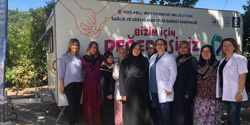 Karamürsel'de sağlık taraması