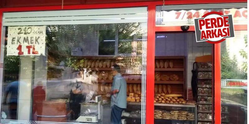 210 gram ekmek 1 TL'den satılıyor