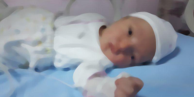 12 günlük bebek anjiyo ile hayata tutundu