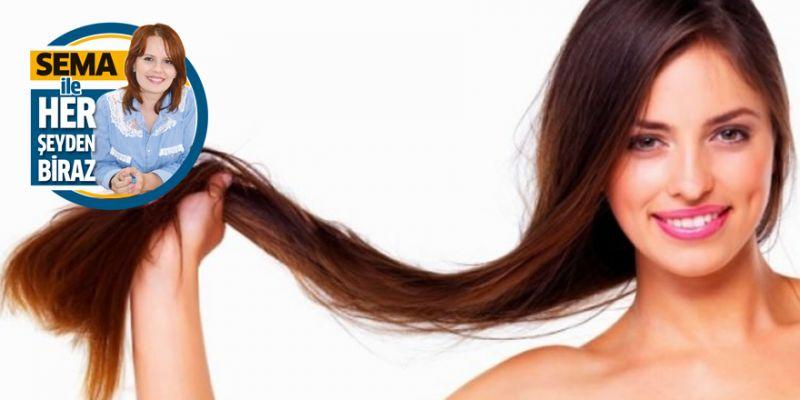 Hızlı saç uzatan mucize besinler