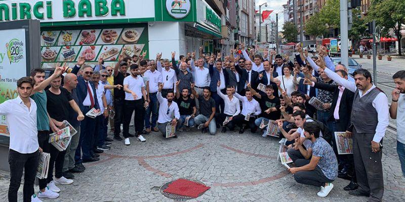 96 genç MHP'ye üye oldu