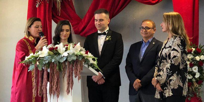 Hürrem Güner kızını evlendirdi