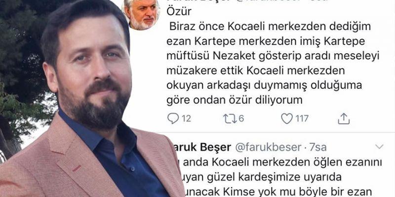 Karadaşlı ile Beşer'in ezan polemiği