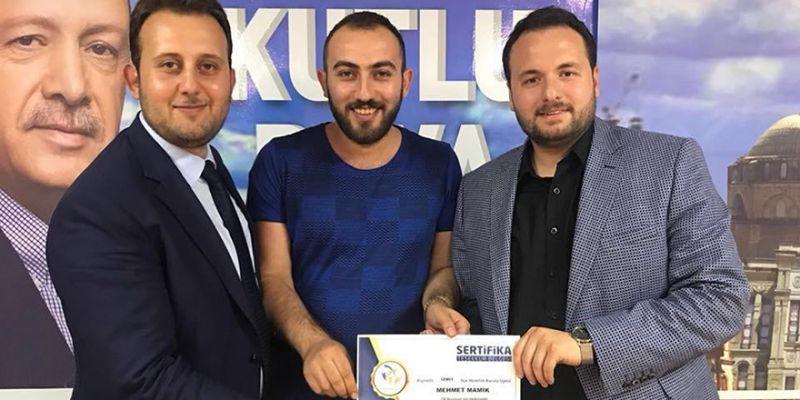 Mehmet Mamik, AK Parti İl Gençlik Kolları'nda