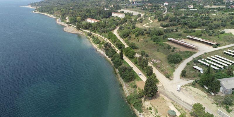 İki sahili birleştiren park cazibe merkezi olacak