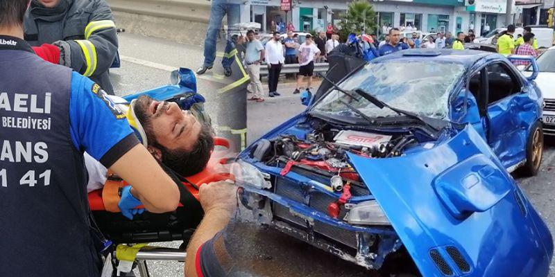 Trafikte 'makas' atan sürücü dehşet saçtı!