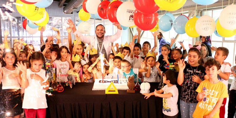 Aziz Sancar temalı doğum günü partisi