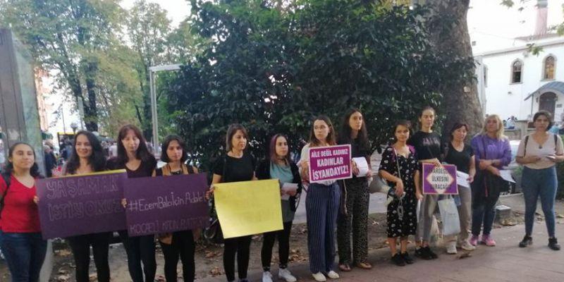 Kadınlar Ecem Balcı davası öncesi duruşmaya çağrı yaptı
