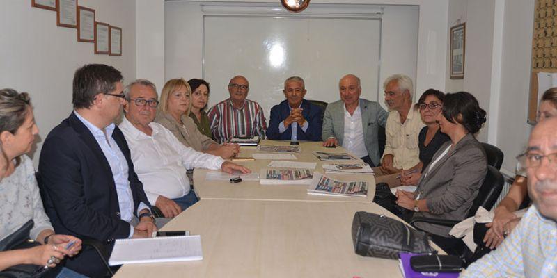 CHP İl Örgütü'den Kartepe İlçe'ye ziyaret