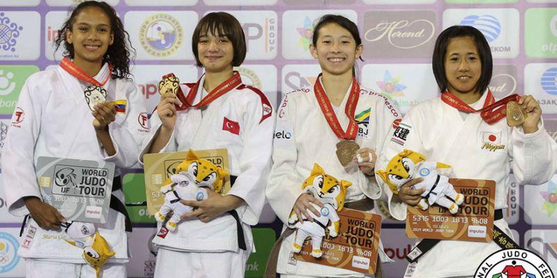 Kağıtsporlu Merve, dünya şampiyonu oldu