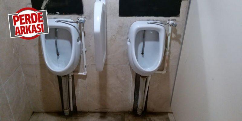 Cami tuvaletleri oldukça bakımsız