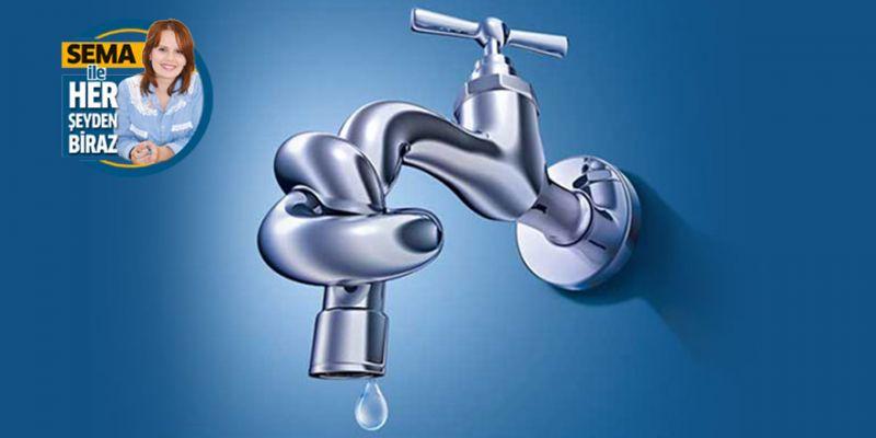 Su faturasını azaltmak için bunları yapın