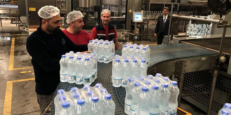 Osmanlı mirası içme suyu dünyaya açıldı
