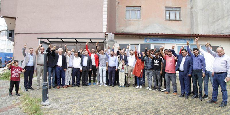 MHP'ye 41 genç üye oldu