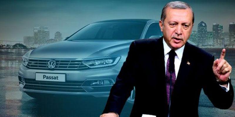 Cumhurbaşkanı Erdoğan'dan Volkswagen talimatı!