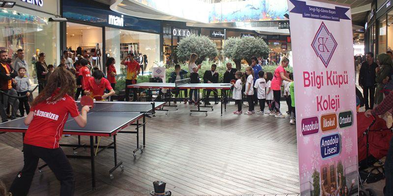 Özel Bilgi Küpü'nden masa tenisi etkinliği