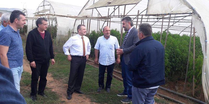 Büyükşehir'den çiftçilere 800 bin TL'lik destek