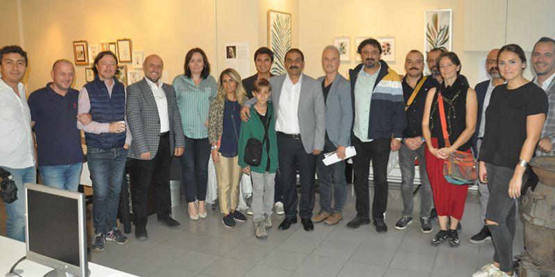 İranlı sanatçı 41. sergisini İzmit'te açtı