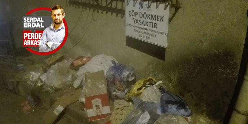 Çöp dökmek yasak ama kimse takmıyor