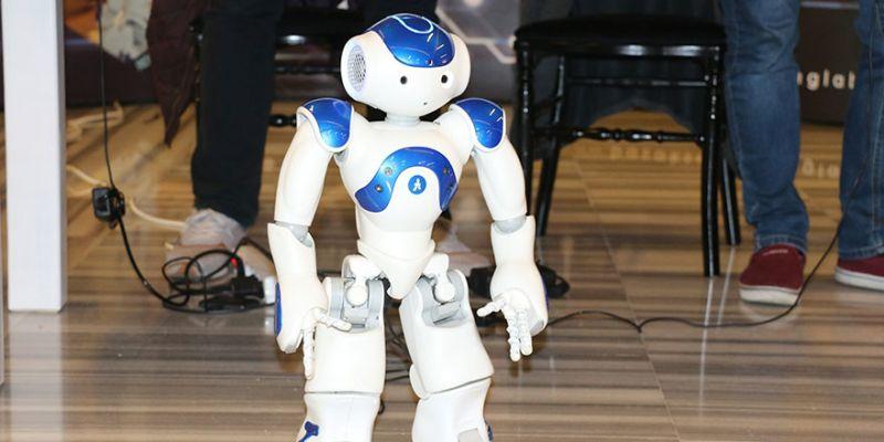 Robot Rıfkı Bilişim Vadisi'nde yerini aldı