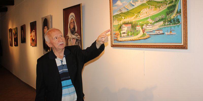 83 yaşında 2. sergisini açtı: 'Resim bana can veriyor'