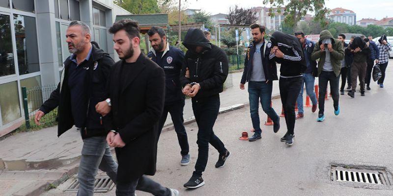 'Hacker' çetesinin 7 üyesi tutuklandı
