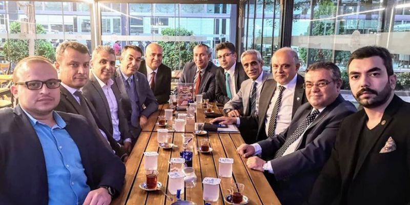 MHP, Türk Eğitim Sen'li öğretmenlerle buluştu