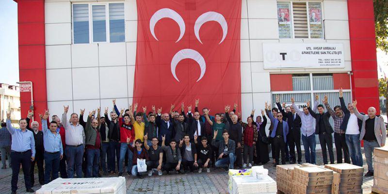 61 genç MHP'ye üye oldu