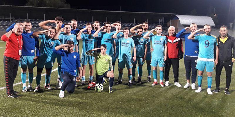Arslanbey GB zirvede: 2-0