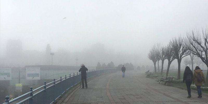 Meteoroloji'den Kocaeli için sis uyarısı!