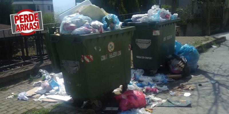 """Mahalleli isyan etti: """"Çöplerimiz bazen günlerdir alınmıyor"""""""